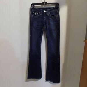 TRUE RELIGION Denim Blue Jeans, 25